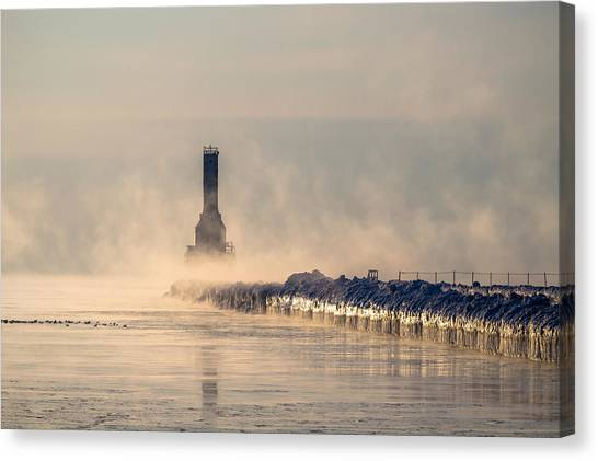 Old Faithful Canvas Print
