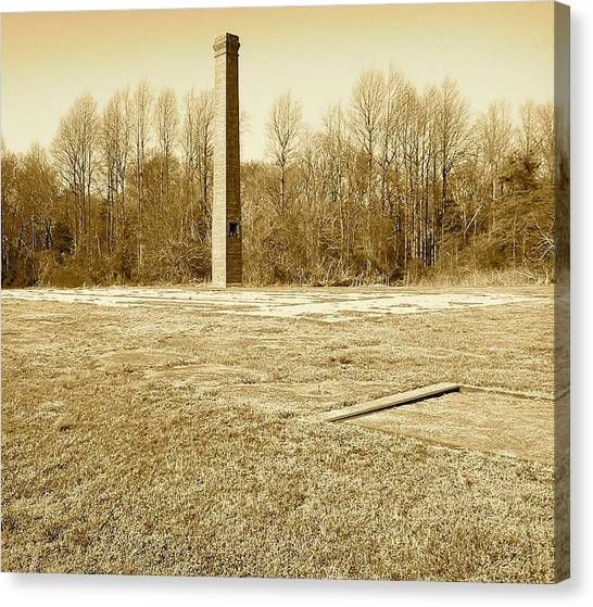 Old Faithful Smoke Stack Canvas Print