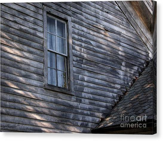 Old Farm House Detail Canvas Print