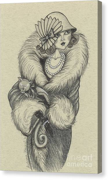Old-fashioned Canvas Print by Snezana Kragulj