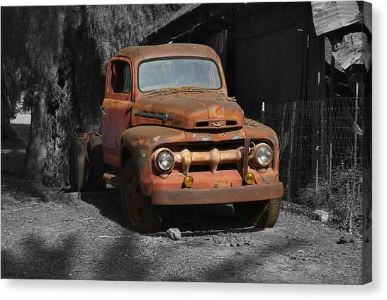 Old Ford Truck Canvas Print