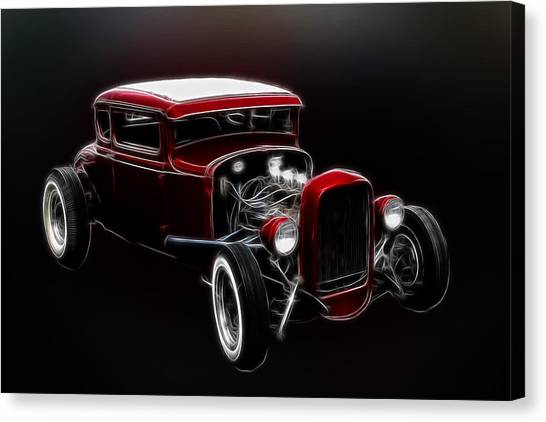 Canvas Print - Old Fords Never Die by Steve McKinzie