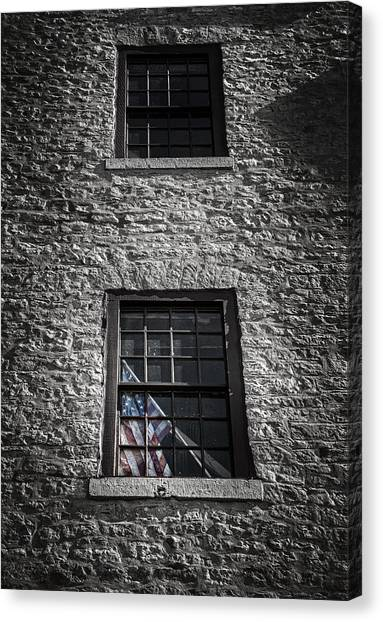 Mill Canvas Print - Old Glory by Scott Norris