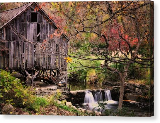 Old Grist Mill - Kent Connecticut Canvas Print