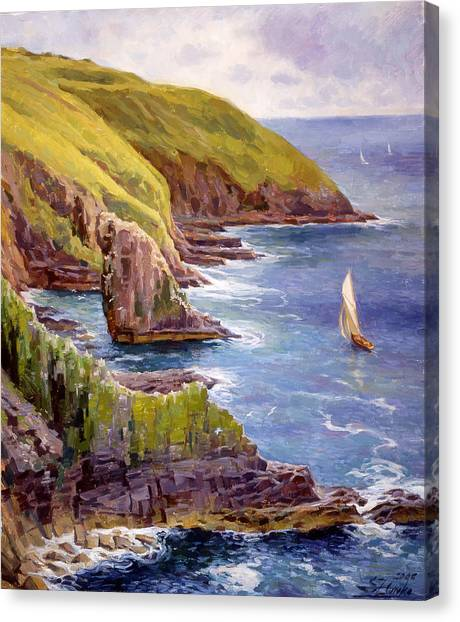 Old Head Of Kinsale  Canvas Print