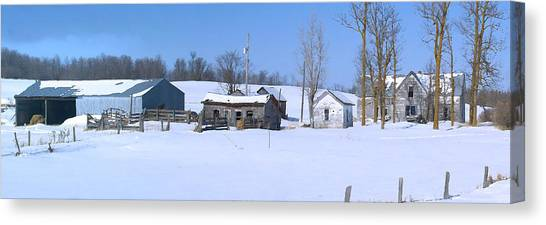 Old Homestead 33 Canvas Print