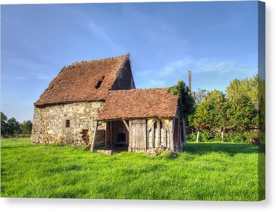Old House  Canvas Print by Ioan Panaite
