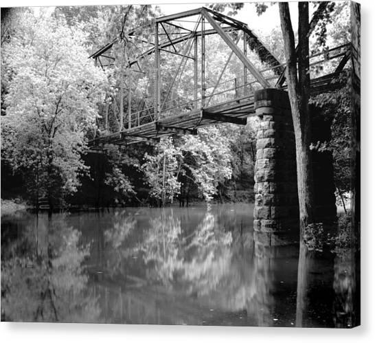 Old Iron Bridge Canvas Print