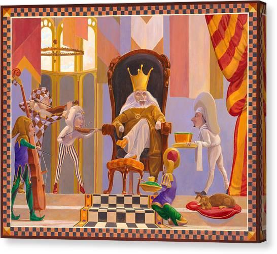 Old King Cole Canvas Print by Leonard Filgate