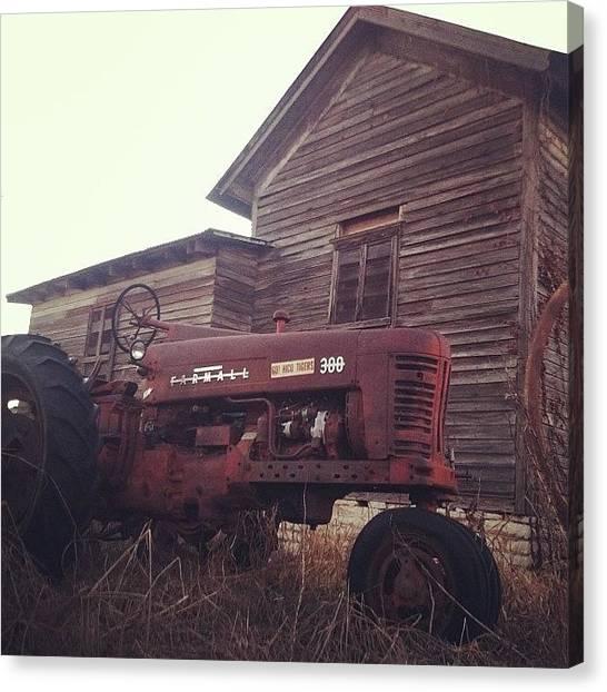 Farmhouse Canvas Print - Old Lackey Mill by Rosie Lackey