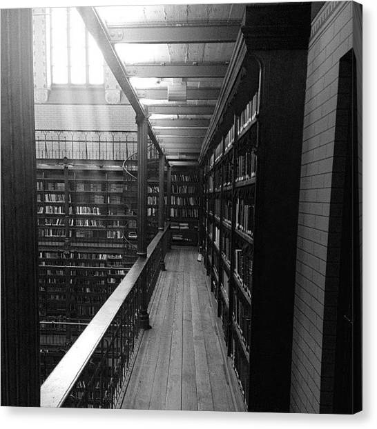 Rijksmuseum Canvas Print - Old Library At #rijksmuseum #amsterdam by Robin Boer