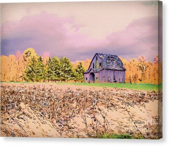 Old Lonely Too Canvas Print