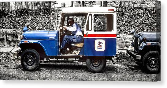 Old Mail Canvas Print