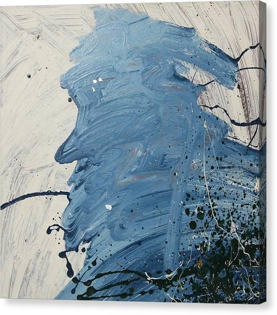 Old Man Blues  C1986 Canvas Print
