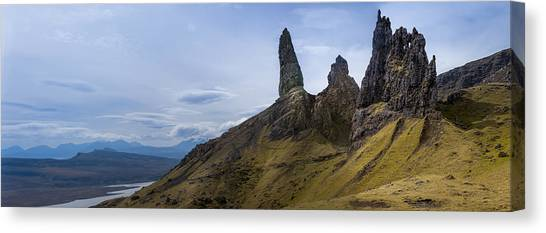 Old Man Of Storr Isle Of Skye Canvas Print