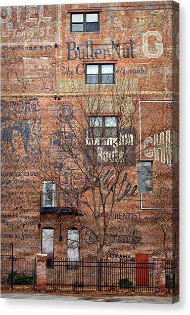 Old Market - Omaha - Metz Building - #1 Canvas Print