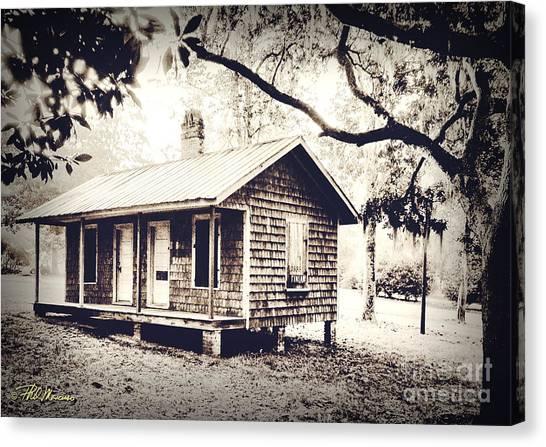 Old Masonboro Slave Cottage Canvas Print