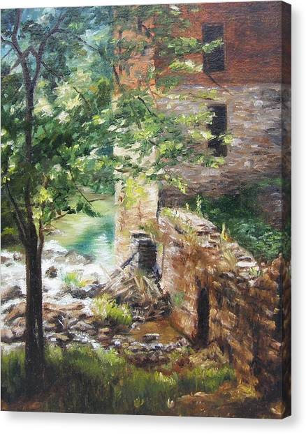 Old Mill Stream I Canvas Print