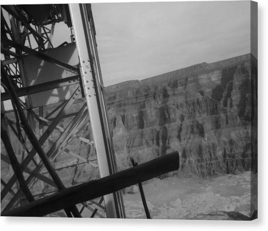 Grand Canyon Canvas Print - Old Mine #2 by Donnie Maynard Christianson