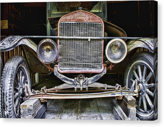 Old Model T Canvas Print