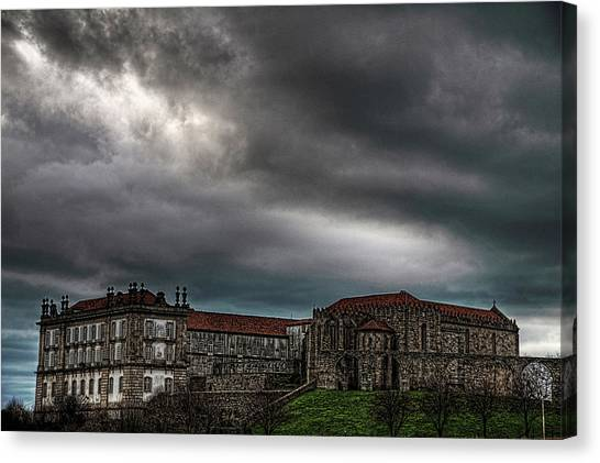 Old Monastery Canvas Print
