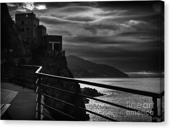 Old Monterosso Canvas Print
