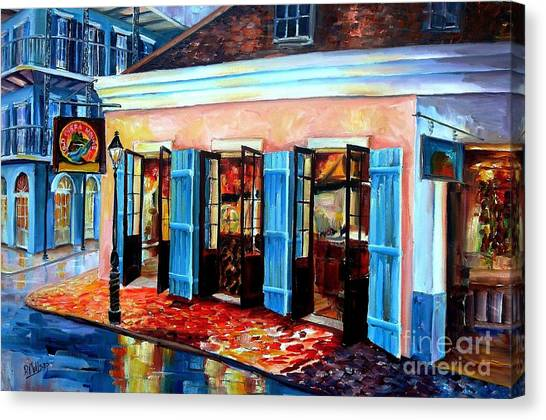 Bourbon Canvas Print - Old Opera House-new Orleans by Diane Millsap