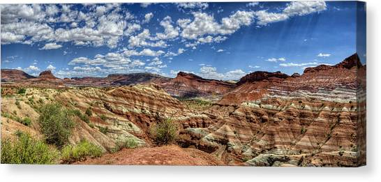 Old Paria Painted Desert Canvas Print