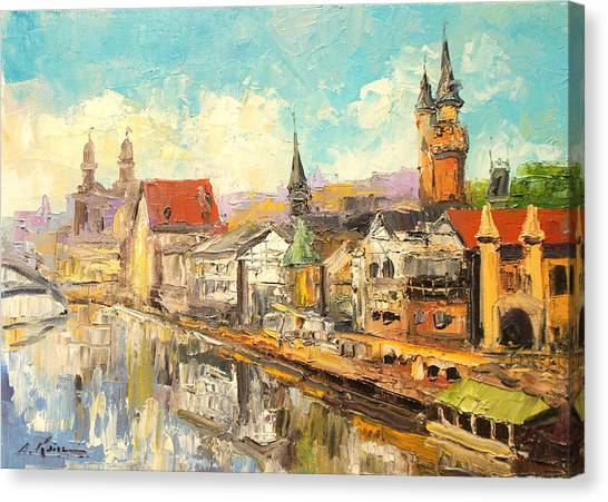 Old Paris Canvas Print