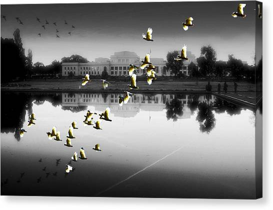 Old Parliament House Canberra Canvas Print