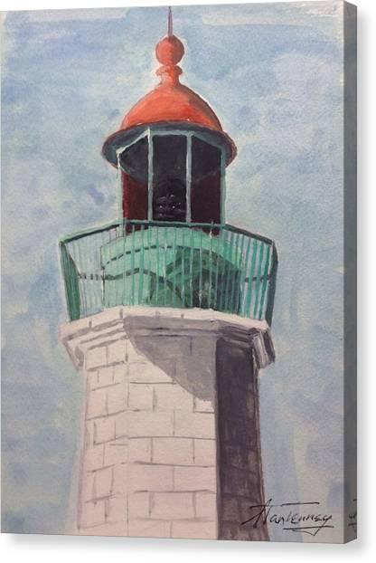 Old Point Comfort Canvas Print
