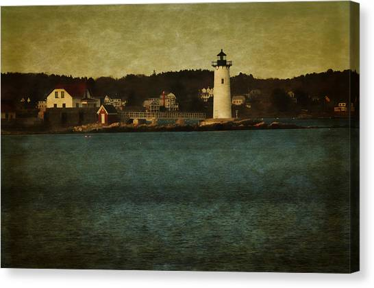 Old Portsmouth Lighthouse Canvas Print