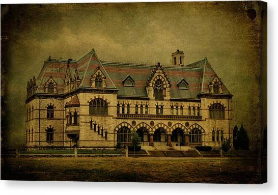 Evansville Canvas Print - Old Post Office - Customs House by Sandy Keeton