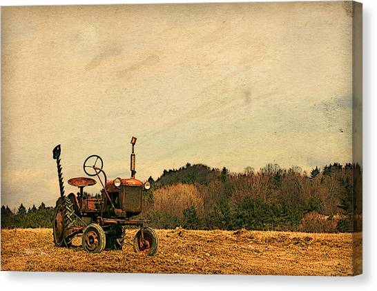 Old Red Canvas Print