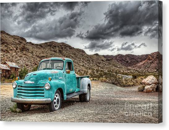 Old Reliable Canvas Print by Eddie Yerkish