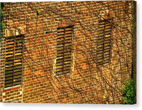 Old Roswell Manufacturing Mill Canvas Print