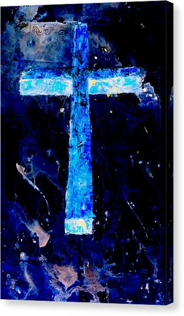 Old Rugged Cross II Canvas Print
