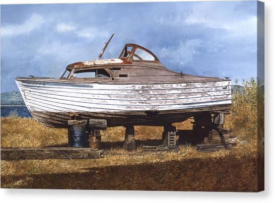Canvas Print - Old Salt by Tom Wooldridge