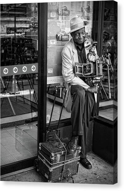 Famous Artists Canvas Print - Old School by Goran Jovic