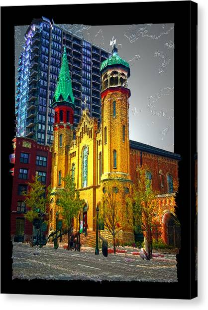 Old St Pats Canvas Print