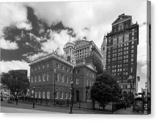 Old State House 15568b Canvas Print