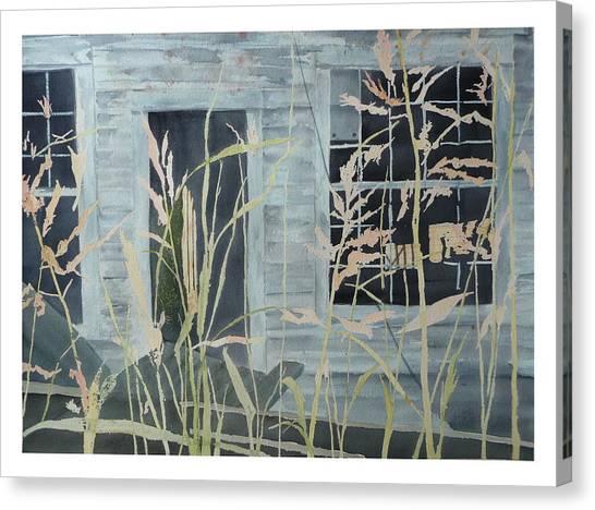 Old Store At June Bug Road Canvas Print by Joel Deutsch