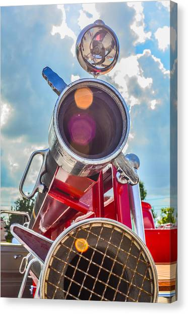 Old Time Fire Truck Series Canvas Print by Kelly Kitchens