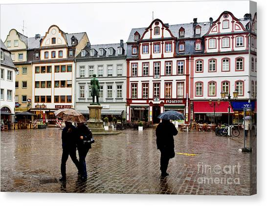 Old Town Square Canvas Print