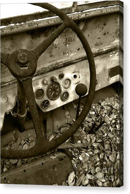 Old Truck 1 Canvas Print