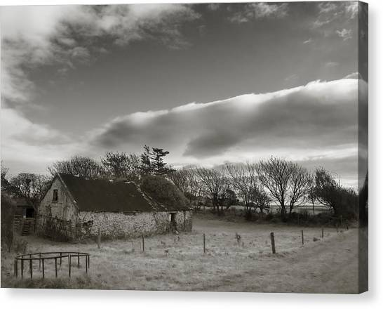 Waterford Canvas Print - Old Unused Farm Near Ballyvooney, The by Panoramic Images