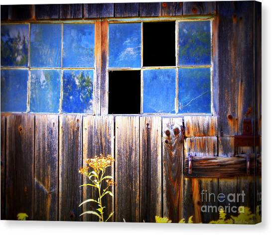 Old Wooden Building Of Broken Dreams Canvas Print