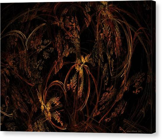Old World Floral Canvas Print
