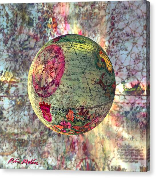 Old World Canvas Print - Old World Poppling by Robin Moline