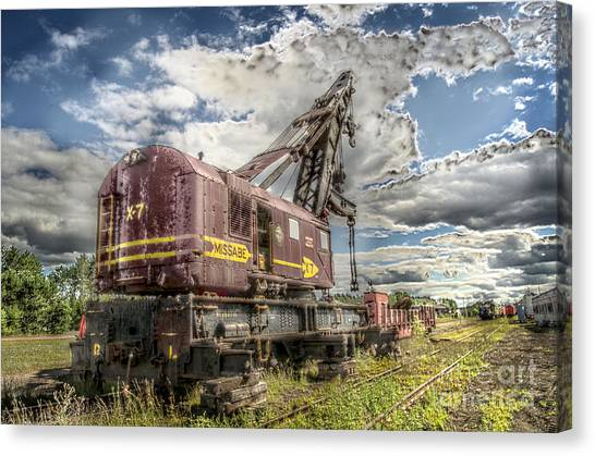 Thomas The Train Canvas Print - Old X Seven by The Stone Age